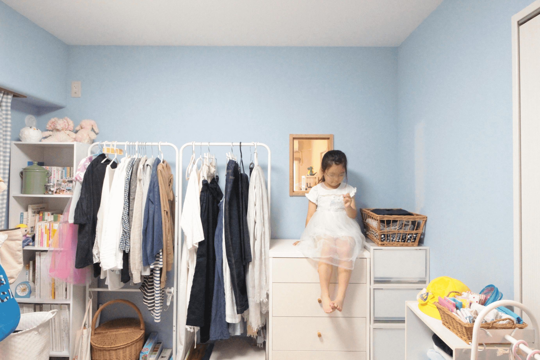完成が楽しみで仕方なかったブルーの子供部屋